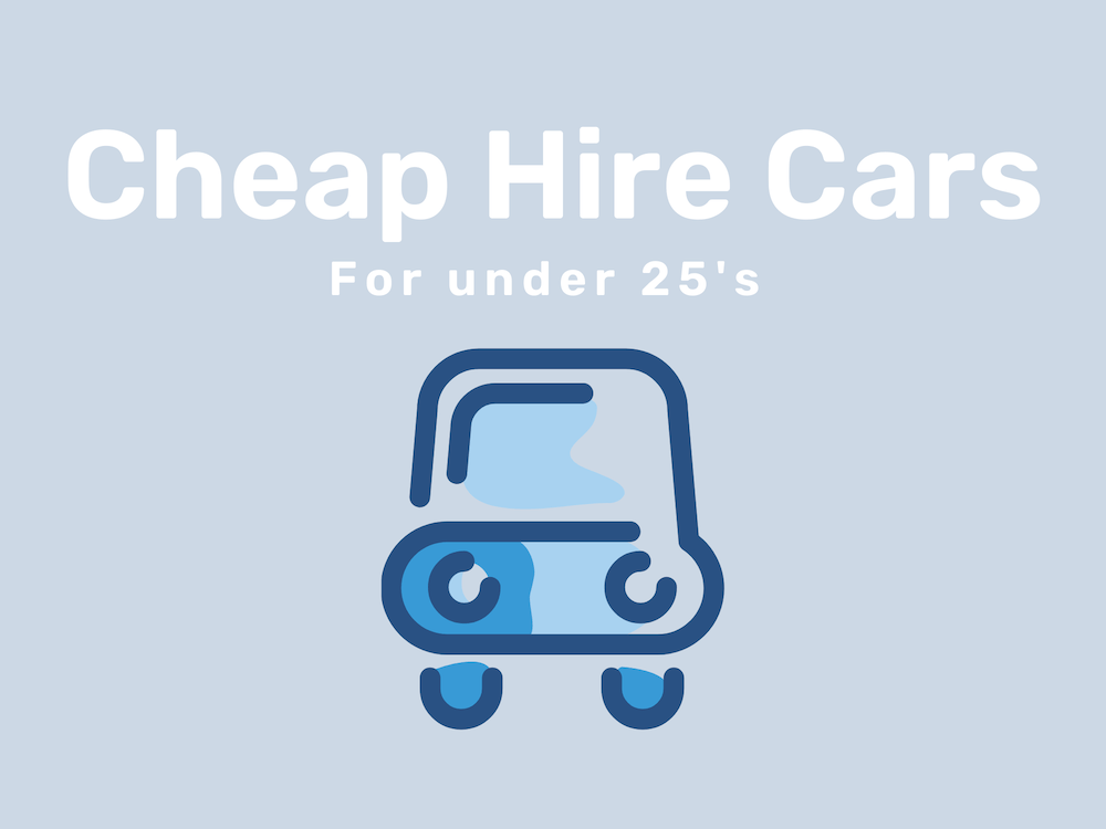 How to Find a Cheap Rental Car for Under 25's