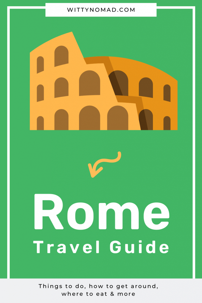 Rome Travel Guide Pinterest