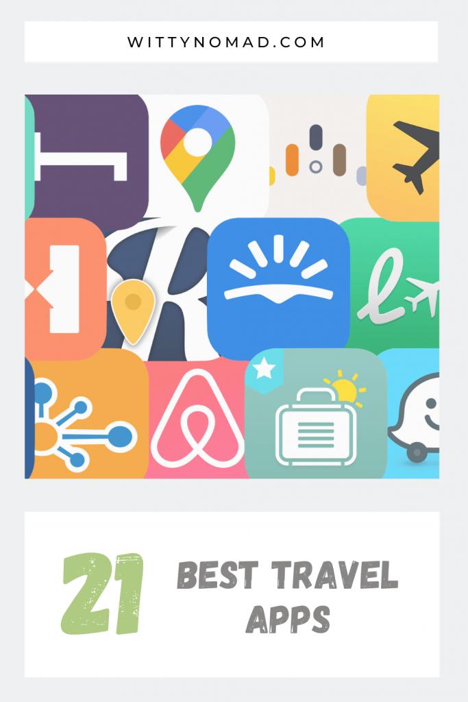 Best Travel Apps Pinterest Pin