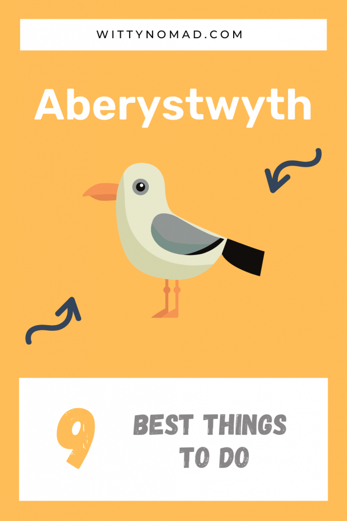 Best things to do in Aberystwyth Pinterest Post